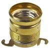 Lampholder E27 brass, 2 holders