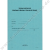 Ballast Water Record Book