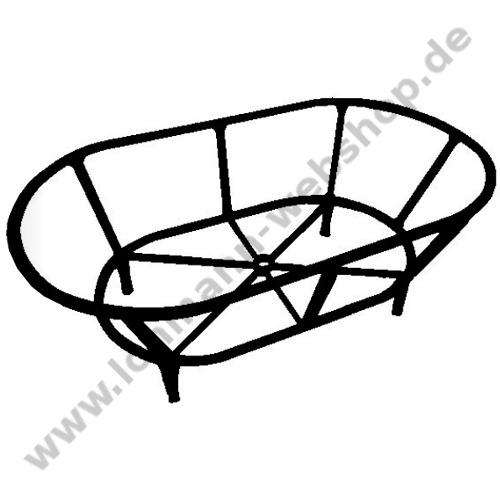 Wire Basket Alu 160x80 Cm