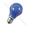Stand. lamp 240V 40W E27 blue