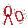 Aufhängegarnitur rot 16mmx110mm (A16-16)