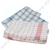 Kitchen towel 50/70cm blue or red-white