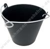 Bucket PVC, black