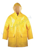 Rain coat size 0 (S) 46/48 yellow