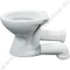 Toilet bowl white