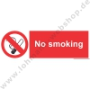 "IMO ""No smoking"" 10 x 30 cm"