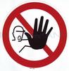 """Sticker """"No trespassing"""""""