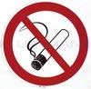 "Sticker (self-adhes.) ""No smoking"" 200mm"