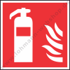 "Sticker self-adhes.) ""Fire extinguisher"""