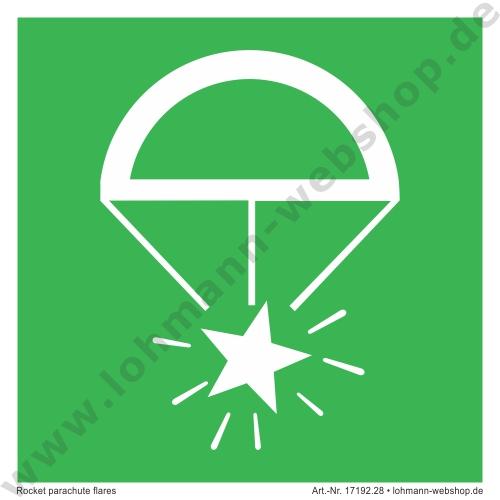 imo symb rocket parachute flares h lohmann schiffs und industriebedarf e k. Black Bedroom Furniture Sets. Home Design Ideas