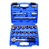 Socket wrench set 1/2""