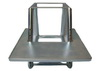 Wheelhouse chair bottom part galv. metal
