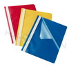 Letter file (folder) A4, PP, blue