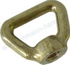Bow nut brass DIN 80704  M16