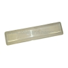 Shade for watertight fixture 2x36W