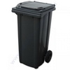 Dust bin 240 ltr. colour: black/grey
