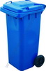 Dust bin 240 ltr. colour: blue