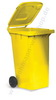 Dust bin 240 ltr. colour: yellow