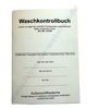 Waschkontrollbuch 4-sprachig Lohmann