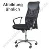 office swivel armchair black