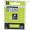 Dymo compatible Tape 12mm/7mm blck./tran