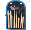 chisel & center punch set 8 pcs