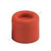 Türstopper Gummi rund rotbraun 40x35mm