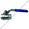 "Ball valve sst  female G 2"" PN63"